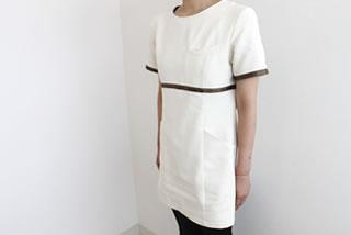 清潔感のある白の制服